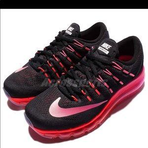 Nike AirMax women's 8.5 black/pink/orange